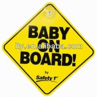 Personalized Baby On Board Car Signs