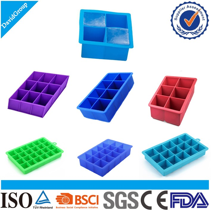 New Products 2016 Custom Silicone Ice Tray & Personalized Ice Cube Tray
