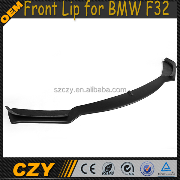 FRP unpainted F32 Front Bumper Lip Spoiler for BMW 4Series F32