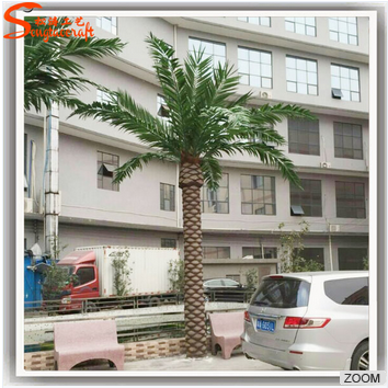 hot selling artificial fake palm tree plants date palm trees for outdoor decoration