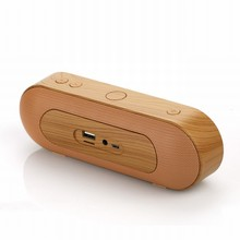 New XC-Z3 Portable X-Bass 3D Sound Mini Wireless Wooden Bluetooth Speaker