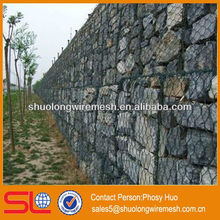 Factory supply gabion box wire mesh,wire cages rock retaining wall