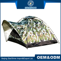 Custom 1-2 People Single Travelling Outdoor Event Tents Front Hall Shelter Windproof Camping Tent