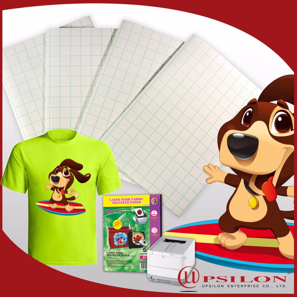 Instant Dry A4 Laser Dark Heat Transfer Film From Malaysia