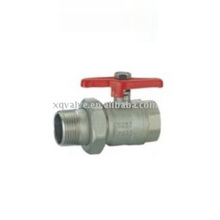"New Products 1/4"""" Tube Duplex Pfa Lined Ball Valve"
