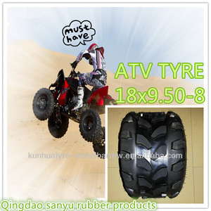 18x9.50-8 ATV tire inner tube and rim vendor from china