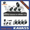 KAVASS 4CH DVR HDMI 800TVL h.264 standalone 3g wireless home security alarm camera system with Cable Power Adaptor(CLG-4C800B)