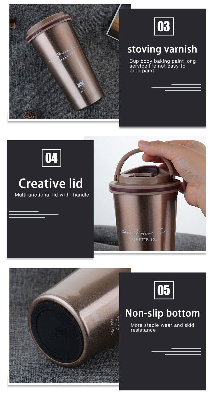 Customize Reusable stainless steel coffee mug