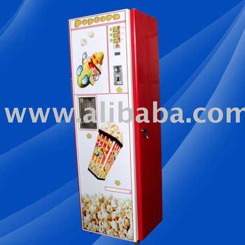 coin operated popcorn vending machine