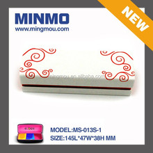OEM ODM reading glass case wholesale, China style white PU leather slim reading glasses case, small travel glasses case