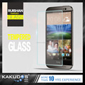 Anti-Scratch 3d color temperd glass screen protector for htc M9
