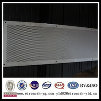 powder coating perforated curved metal roofing sheet prices(ISO9001)
