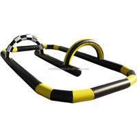 Inflatable mini car kids race track on sale