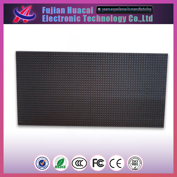 p7.62 led screen module p7.62 indoor led display board sing/dual color