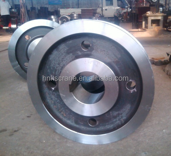 Different Types Casting Steel Crane Wheels