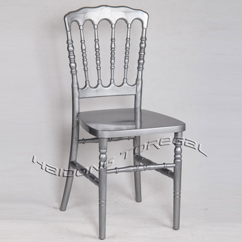 Transparent Plastic Resin Napoleon Chair