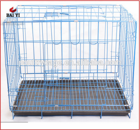 Anping Cheap PVC coated animal cages/commercial dog cages