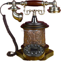 ID caller rotary dial old style telephone