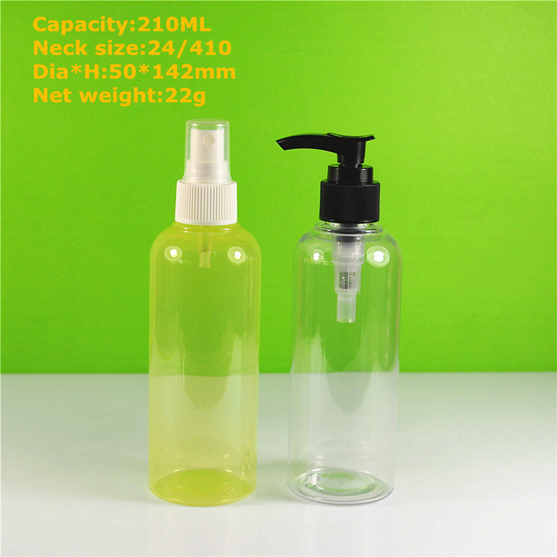 7 oz plastic hair oil mist bottle