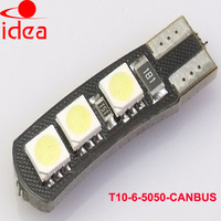 guangzhou led 24v china light led manufacture 12v led lighting T10 5SMD 5050 t10 canbus led bulb