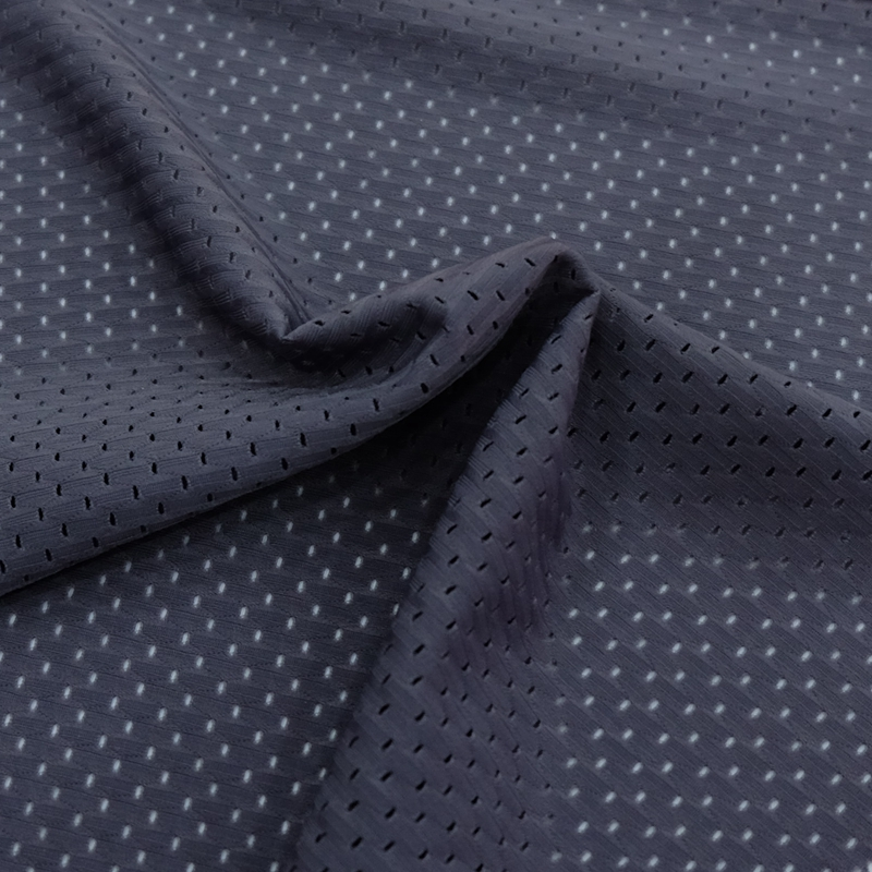100% polyester dri fit bird eye mesh fabric for sports shirt