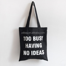 Extra large durable Printable Canvas Cotton Bag