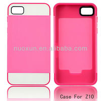 Hot 3 in 1 cell phone case for mobile phone for Blackberry Z10