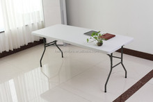 60-Inch Length Blow Molded Plastic Folding Table