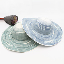 New design paper color straw hats woman hat summer