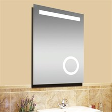 3X Zone Cosmetic Mirror With Light Bathroom Magnifying Mirror Glass