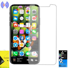 stock 9 hardness premium clear tempered glass screen protector guard for iphone X for iphone 10 wholesale custom package