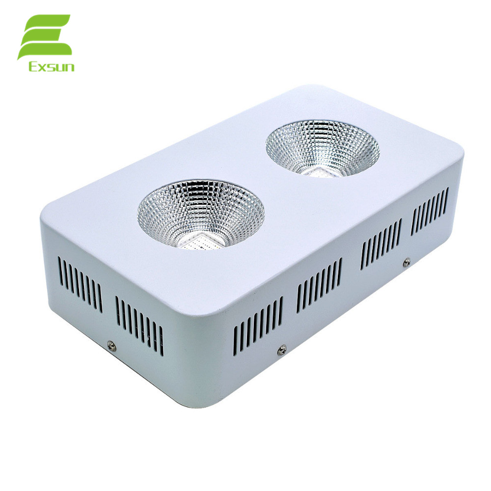 Full Spectrum Indoor Plant 410nm to 730nm For Greenhouse and Garden COB 900W LED Grow Light