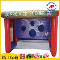 Inflatable football Door for sports game