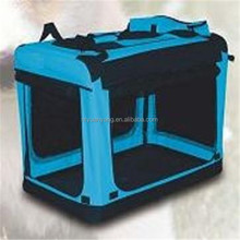 foldable crate foldable soft dog kennel pet cage pet carrier dog pet crate cover double dog crate