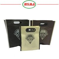 New design promotional non woven bags rpet non woven shopping bag
