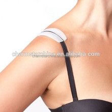 transparent invisible pain relief Silicone shoulder strap for lady should pads