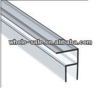 new product glass shower door plastic seal strip HS12113