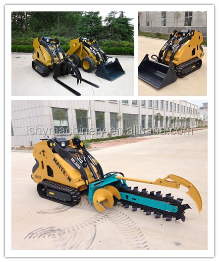 Multi-functional compact earth moving equipment, mini loader