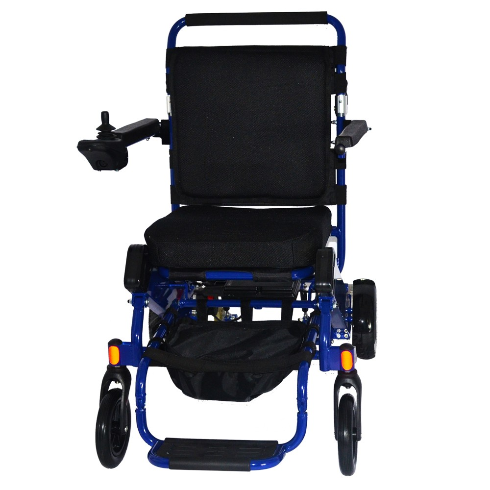Lightweight 19kg reclining portable electric wheelchair