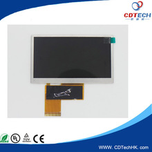 480(RGB)x272 Dots 4.3 inch tft capacitive touch screen
