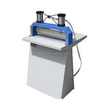 Pneumatic paper folding and creasing machine