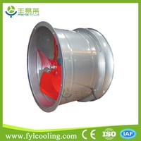Low noise Small size industrial suntronix air blower pipeline duct axial flow fan 380v ac price