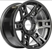 TRD Aluminum alloy material alloy wheel 16X8.0 and 17X8.0 black wheel rims