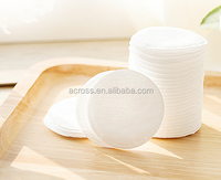 Across 0.3g Round Cotton Facial Pads cosmetic with made up brand names