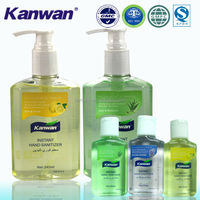 Hand wash liquid soap formula for OEM/ODM Aloe vera & Lemon Hand Sanitizer with free sample hand wash