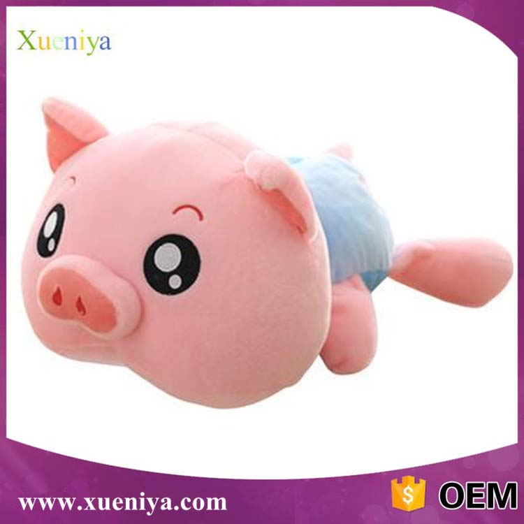 China Wholesale Cheap Newest Custom Baby Stuffed Soft Toy Pink Pig