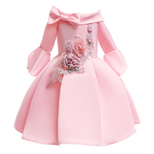 O-neck children tutu <strong>dress</strong> leakage shoulder design <strong>girl</strong> <strong>dress</strong> of 3-8 years old