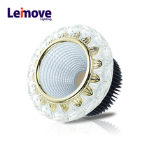 led recessed downlight 60mm pf>0.9 15w dimmable cob led downlight