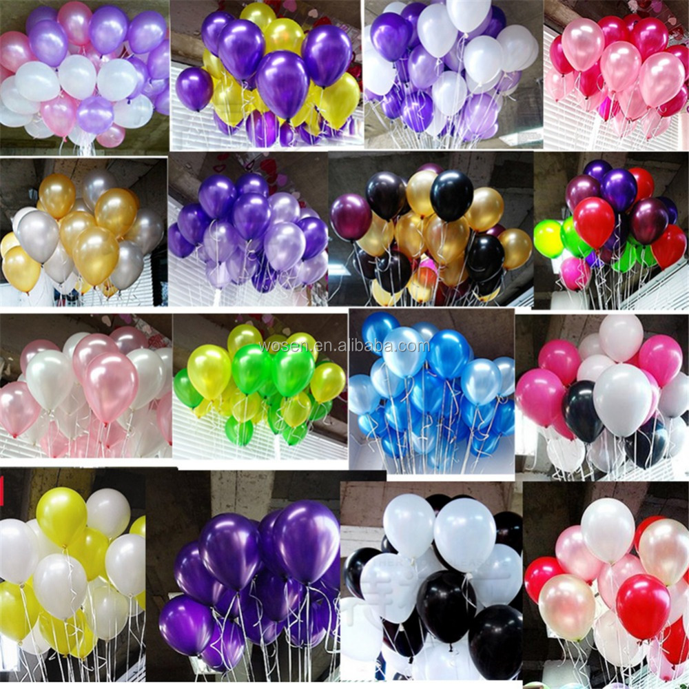 10 inch 1.2g/pcs Standard Latex Balloons for Party , wedding