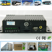 Four channel mobile DVR SD card recorder with GPS 3G
